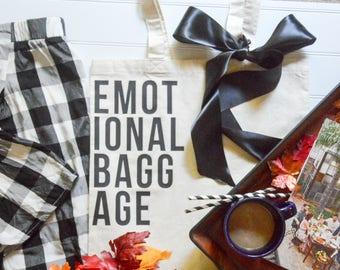 Emotional Baggage - Tote bag