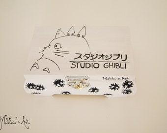 Studio Ghibli hand painted boxes series / Totoro - Studio Ghibli Box