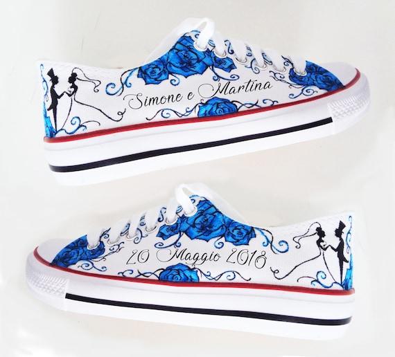Custom Bride Sneakers / Personalized