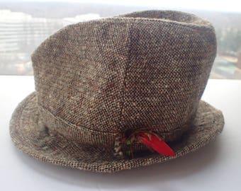 f596441fc153a Irish Tweed Fishing Hat Gorman s Connemara Ireland