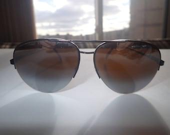Aviator Sunglasses Glacier Gradient Lens Ski