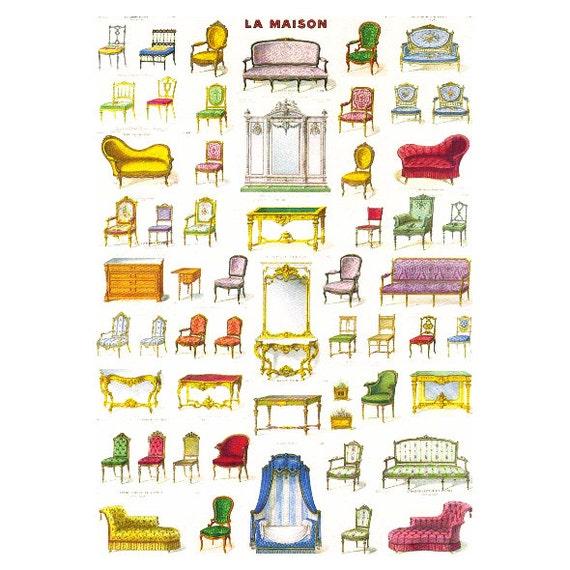 Marvelous Decoupage Paper Scrapbook Paper Furniture Doll House Furniture Furniture Pattern Vintage Furniture Paper Card Making Die Cuts Download Free Architecture Designs Meptaeticmadebymaigaardcom