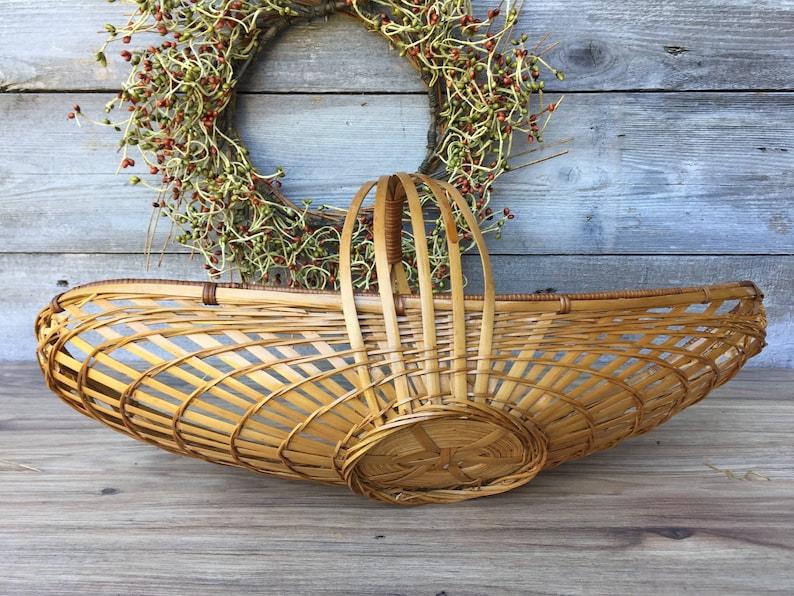 Wicker Fruit basket Wicker Banana Basket Wicker Flower Basket ReFabulousReVamped  ReFabulous