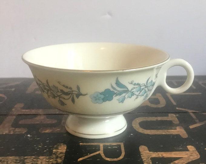 Vintage Theodore Haviland Footed Tea Cup(s) Clinton Pattern, Blue Flowers, Bluebells, Vintage Haviland, High Tea, Vintage Tea Cup, Tea Party