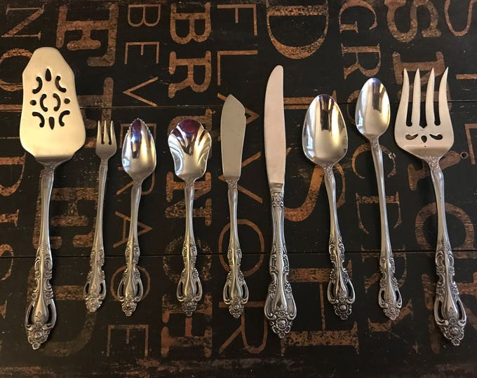 Chalmette (Stainless) by Imperial International Miscellaneous Pieces, vintage stainless, vintage utensil, vintage serving pieces, pie server