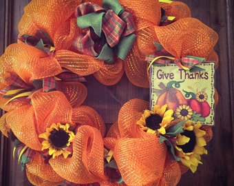 Give Thanks - Sunflowers