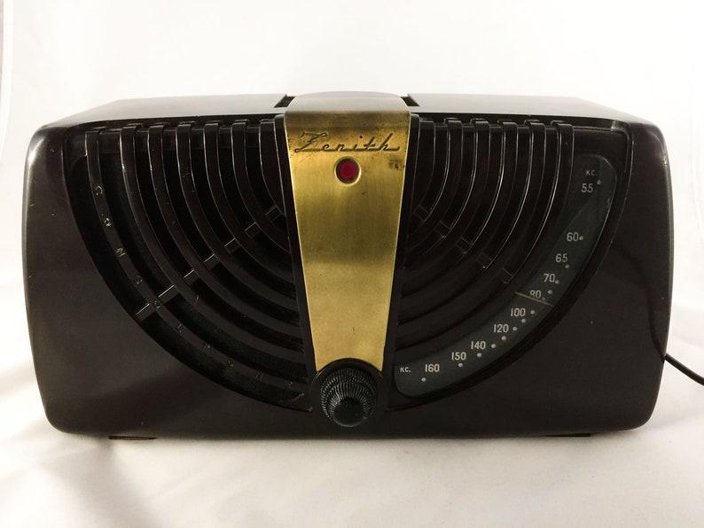 Bluetooth speaker Vintage Art deco Zenith Radio image 0