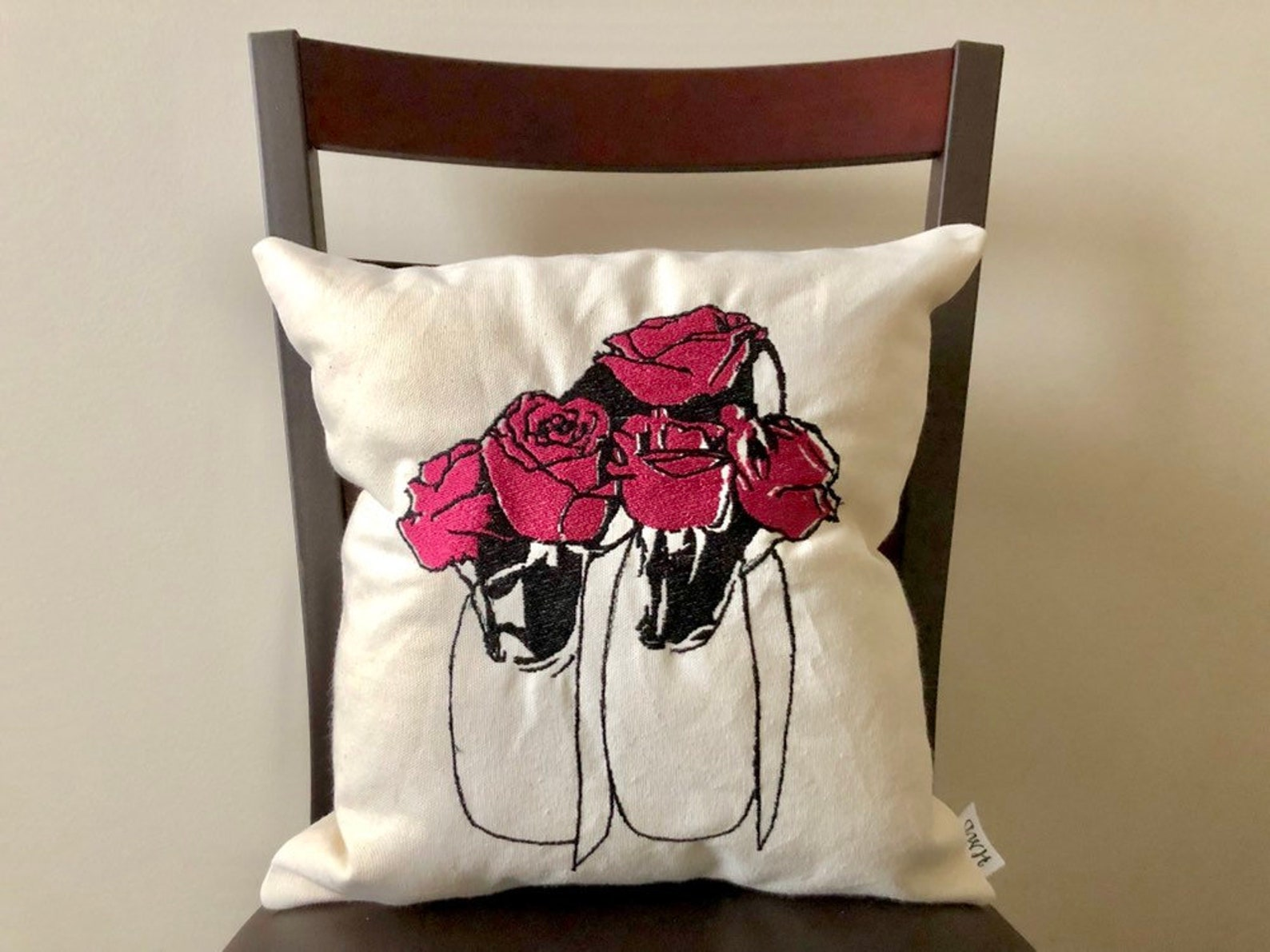 ballerina pillow, dance pillow, dancer pillow, gift for dancers, dance gifts, dance teacher gifts, ballet gifts, ballet pillow,