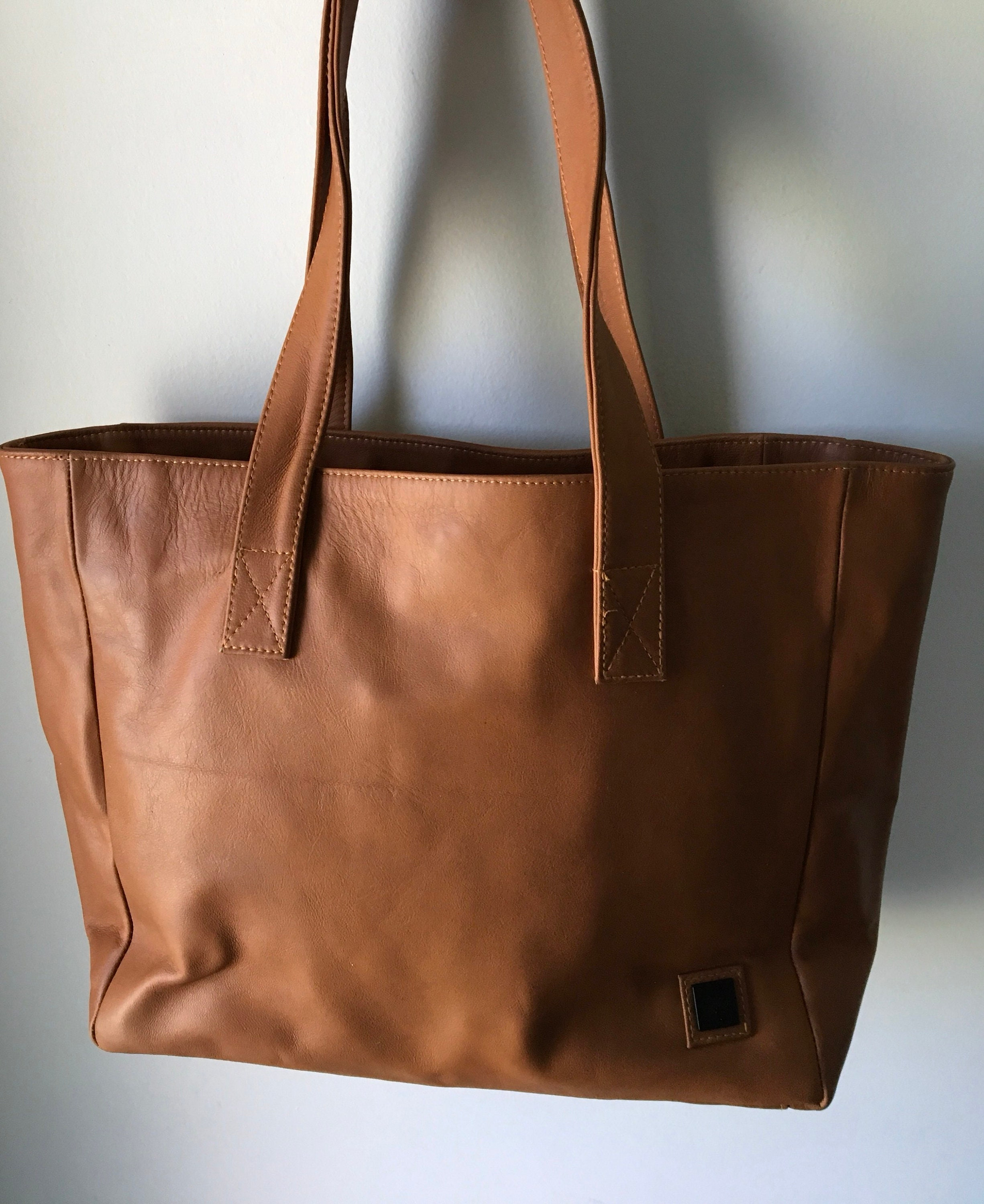 612e349cc8fa Brown Leather Tote