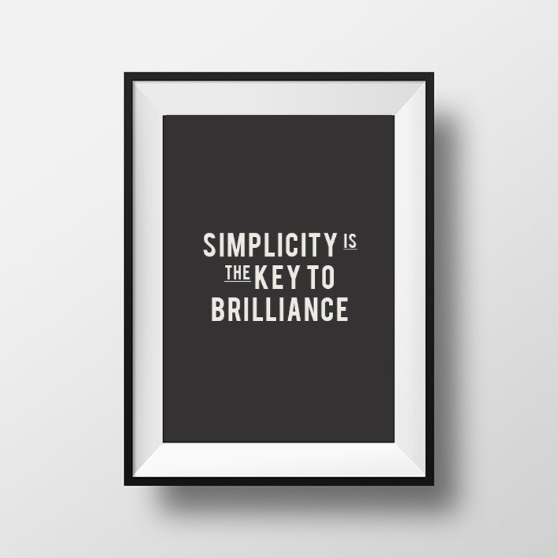 graphic regarding Printable Motivational Posters known as Printable Artwork, Motivational poster, Typography Poster, Ease, Household Decor, Wall Artwork, Electronic Down load, Inspirational Estimate, Minimalist
