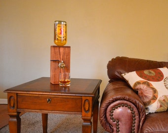 Wood Liquor Dispenser/Decanter