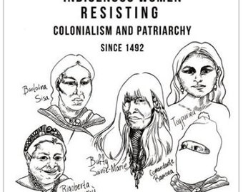 Indigenous Women Resisting Colonialism and Patriarchy Poster