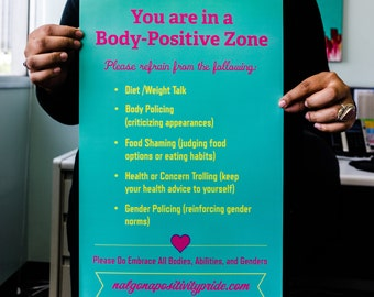 Body Positive Poster (11x17)