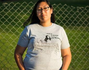 La Reina NPP Shirt -Popocatépetl and Iztaccíhuatl (XS-5XL)