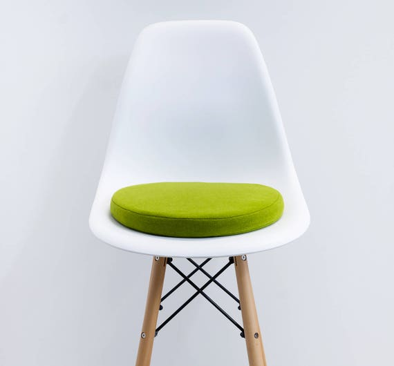 Round Seat Cushion Floor Seating Pad Modern Pillow Wooll Etsy