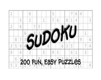 Sudoku Puzzles Etsy