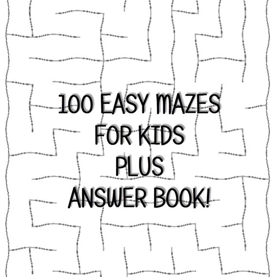 It is a picture of Massif Easy Printable Mazes