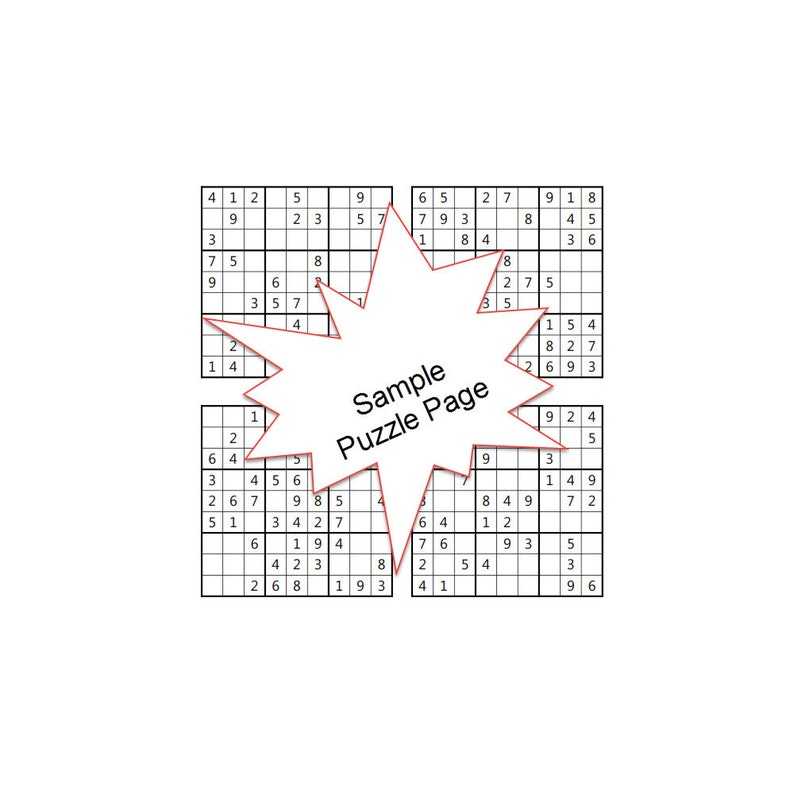 Medium-Hard Sudoku Puzzles Answer Keys e-Book 200 ...
