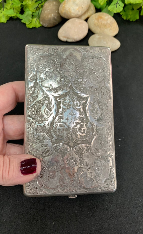 Antique Cigarette/ Card Case, Early 1900's Cigaret