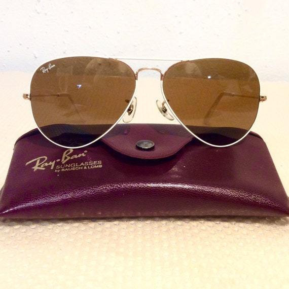 Vintage Ray Ban Aviator Sunglasses, Flying Colors