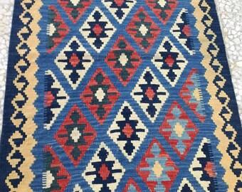 Persian Rug Kilim Shiraz  (Free Shipping)