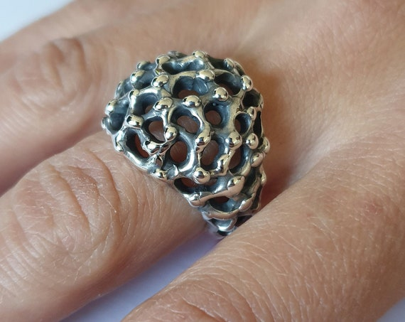 """Silver Ring 925th """"MARTE"""" Collection"""