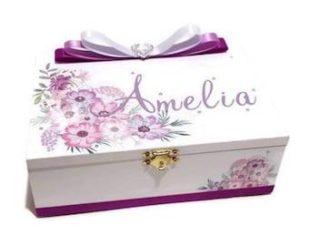 Personalised Jewellery Box Etsy