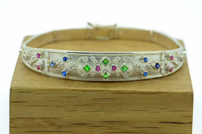 Doppel Ring Kreuz In 925 Silber Cross Zirkonia Besetzt Verschiedene Größen Without Return Fine Jewelry