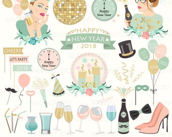 new years eve clipart new years eve ii clipart with new year clipart disco ball clipart party clipart 31 images 300 dpi png files