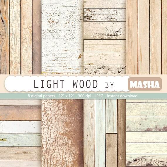 Leichte Holzes Papier Holz Papier Rustikale Holz Etsy