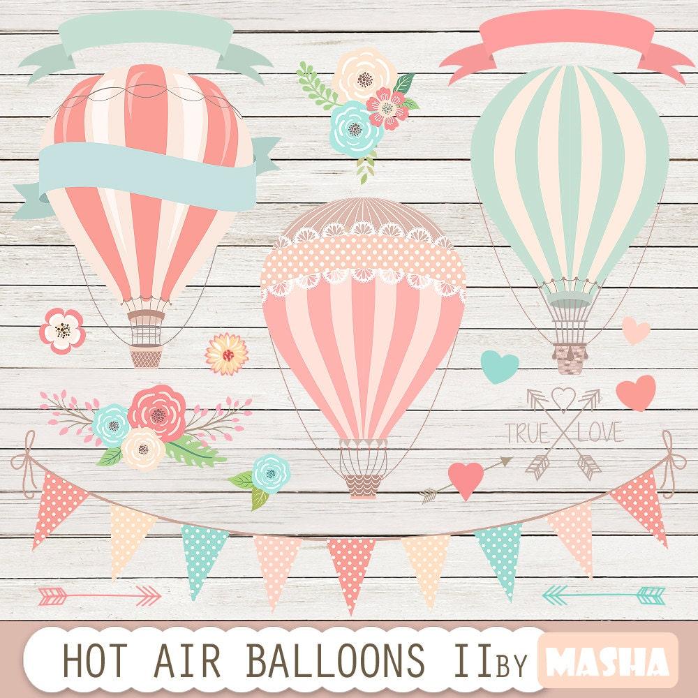 Hot Air Balloons Clip Art Hot Air Balloon Clipart-4761
