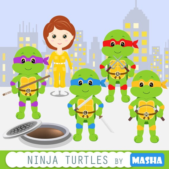 Image result for turtles clipart