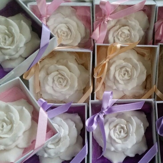 Christmas Birthday gift Party favor 25 pcs Scented stone rose Home decor Wedding favors Wedding gifts