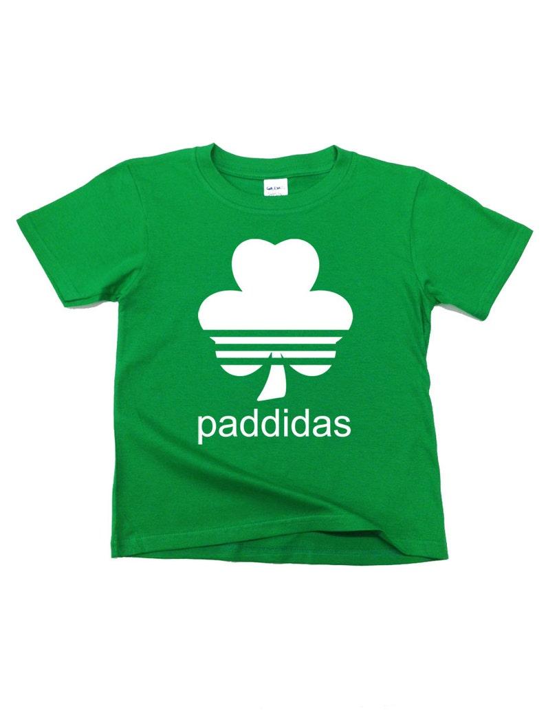 251e26f4b Paddidas Kids T-Shirt. Paddy Irish Funny Parody Paddys | Etsy