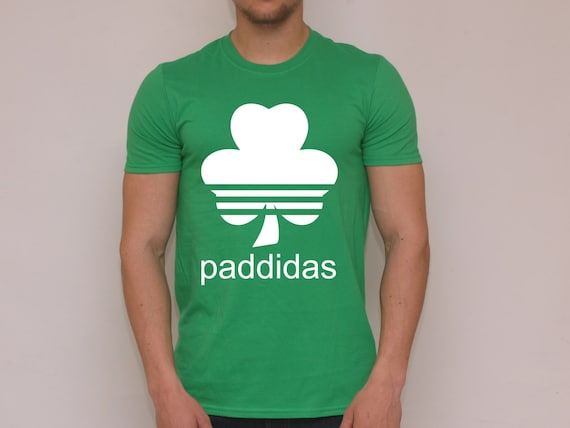 c5767d500 Paddidas T-Shirt. More Colours Funny Paddy Irish St | Etsy