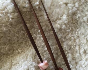 Spindle Stick in Walnut, Single
