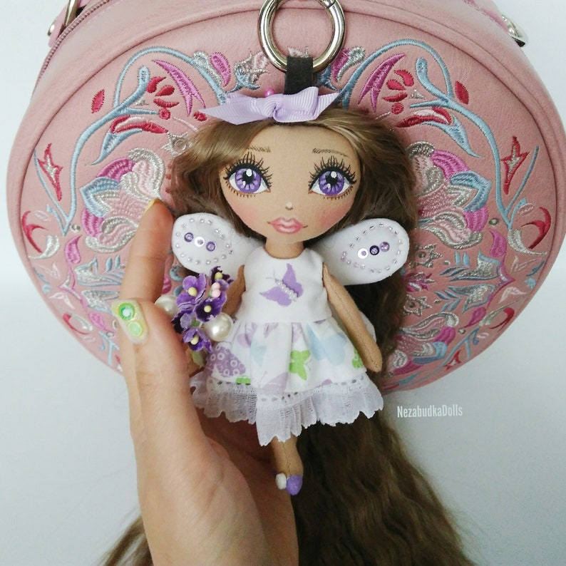 Handmade GIFT Guardian Angel GIFT Charm In Gift Bag