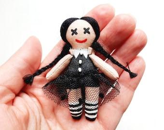 Wednesday Addams doll accessories Blythe doll for doll Rainbow High bag Middie blythe socks