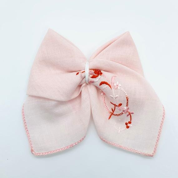 Vintage hankie bows