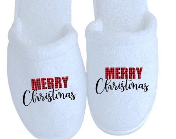 Christmas Slippers - Christmas Gifts - Slippers - Customized slippers - Corporate Gifts - Family Christmas Slippers