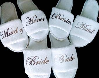 8c72f24600 Wedding slippers | Etsy