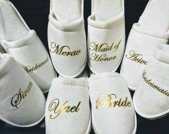 f4f5480782 Bridal slippers | Etsy