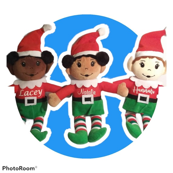 2021 Personalized Christmas Elf - Personalized Elves - Stuffed Elf - Stocking Stuffer - Boys Available