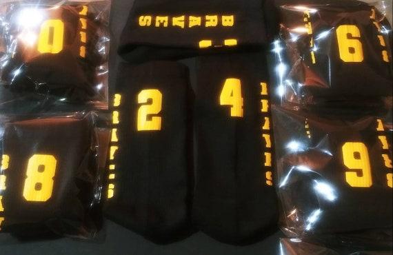 Personalized Basketball Socks, Sports Socks, Cheerleading Socks, Athletic Socks, High School Sports, Kids Team Socks