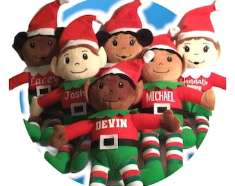 Wholesale Blank Elves. No Personalization - Christmas Elves - Stuffed Elf - Stocking Stuffer - Christmas Decoration