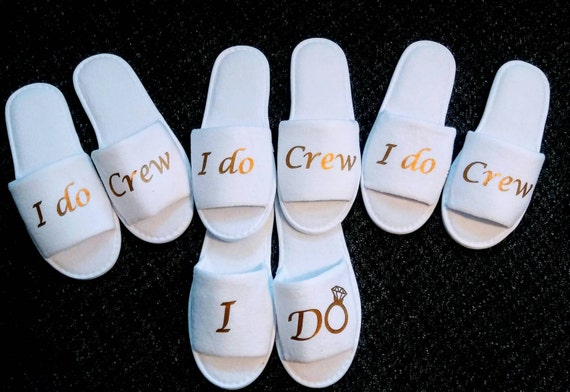 I Do Crew Slippers