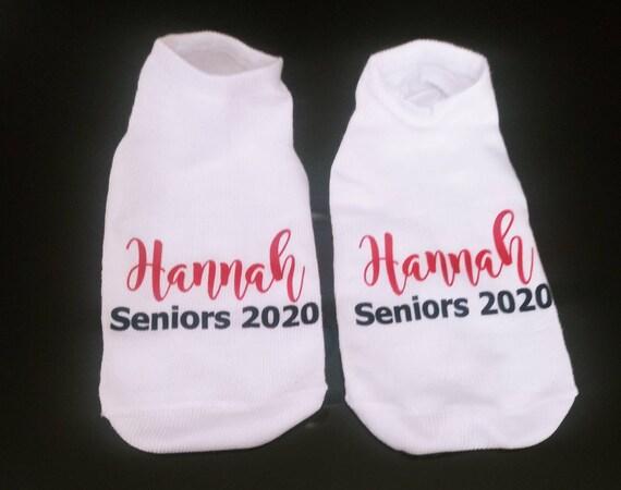 Class of 2020 High School Spirit Socks - Personalized Socks - Custom Socks