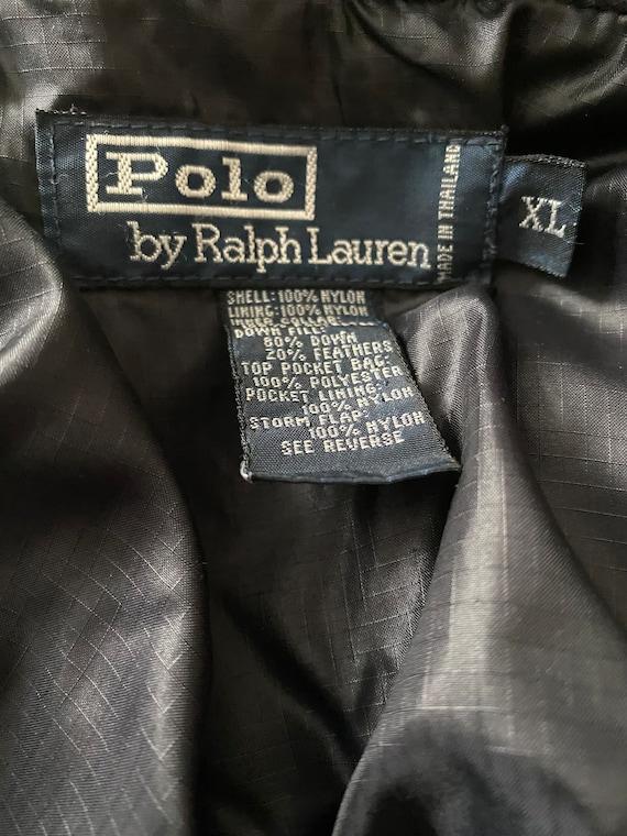 Vintage 1980s Ralph Lauren puffer jacket - image 3