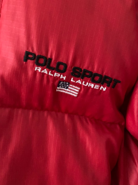 Vintage 1980s Ralph Lauren puffer jacket - image 5