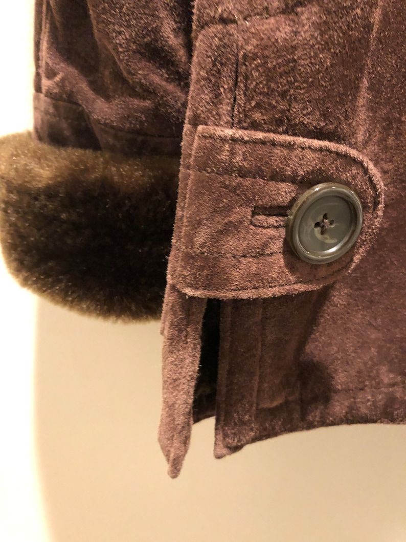 Dennis Basso Shearling Coat Small